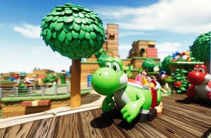 ヨッシー・アドベンチャー(C)Nintendo