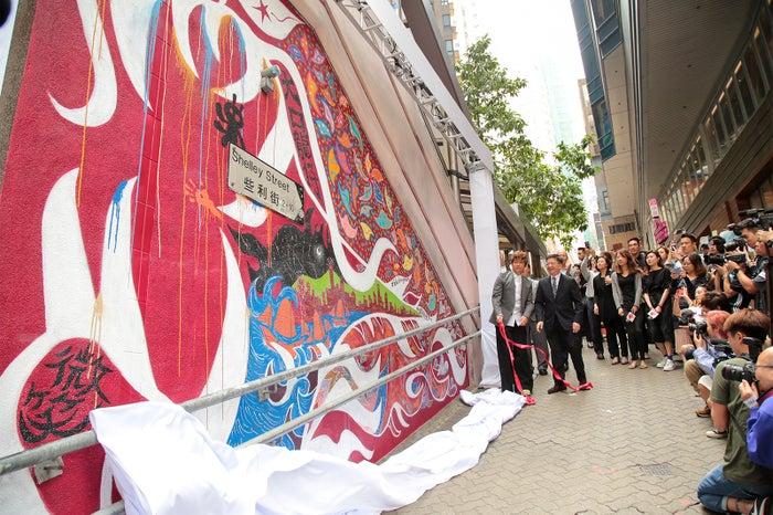 お披露目の場には多くのメディアが駆けつけた/画像提供:香港政府観光局