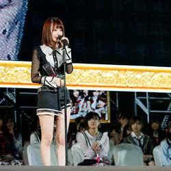 宮脇咲良「第10回AKB48世界選抜総選挙」(C)AKS