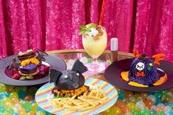 「コアラのマーチ」が黒いバーガーになった!人気菓子がハロウィン限定メニューに