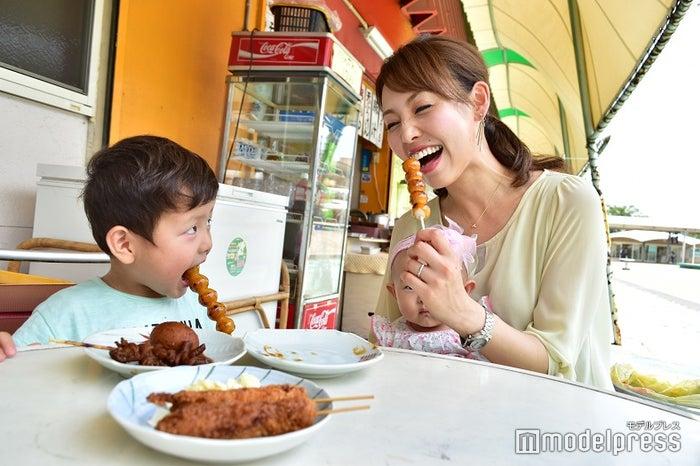 一口が小ぶりなお団子は子供でも食べやすい(小さいお子様は喉のつまりにご注意ください)