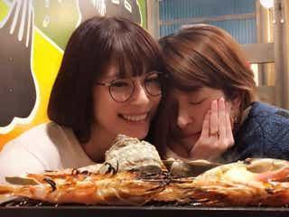 SPEED上原多香子&島袋寛子、密着2ショットにファン歓喜 仲睦まじいプライベートに反響