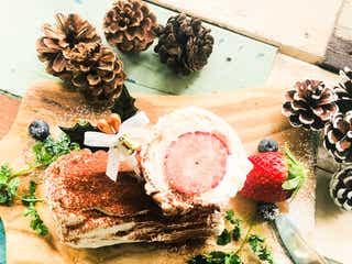 今からでも作れるクリスマスケーキ「ブッシュドノエル」の簡単レシピ【柏原歩のトレンドレシピ】