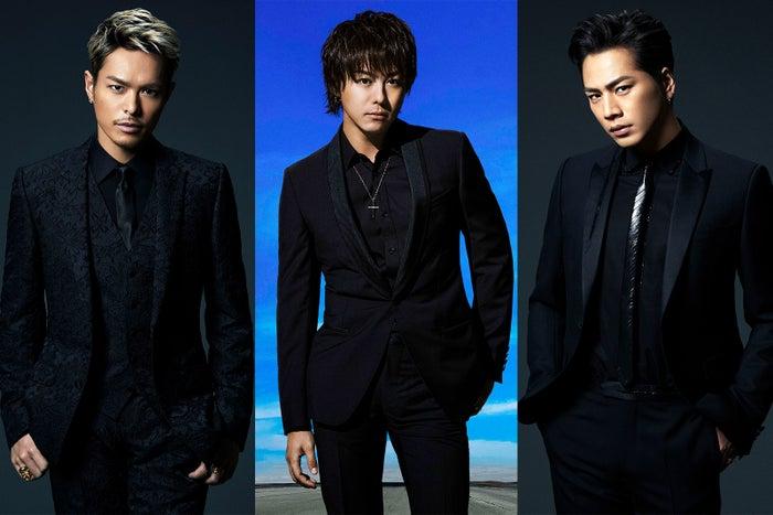 (左から)今市隆二、TAKAHIRO、登坂広臣(画像提供:LDH)