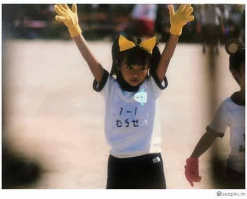 村瀬紗英、幼少期ショットに「可愛すぎてびっくり」「天使でしかない」とファン悶絶