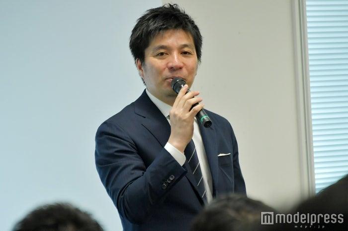 藤田普社長 (C)モデルプレス
