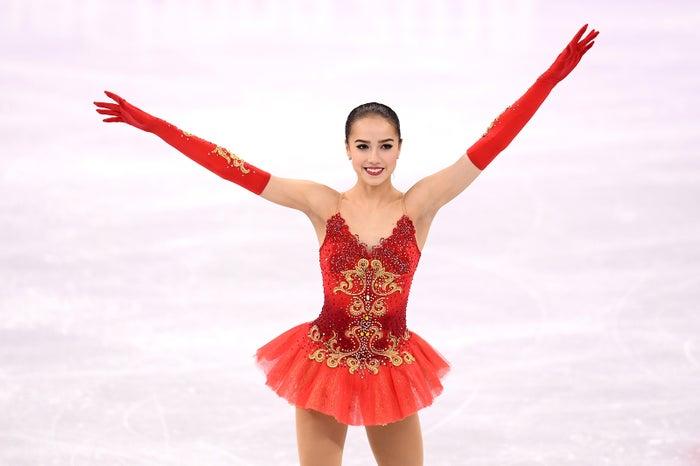 アリーナ・ザギトワ (Photo by Getty Images)