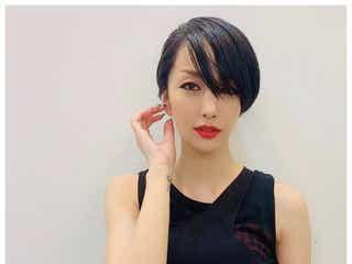 中島美嘉、黒髪ショートに大胆イメチェン ファンから絶賛の声続出