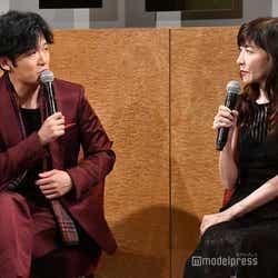 稲垣吾郎、安寿ミラ (C)モデルプレス