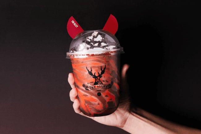 悪魔のダークココア¥600(税抜)[冷(Cold)]/画像提供:ポトマック