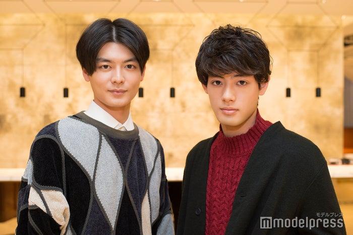 (左から)三船海斗、池田健一郎 (C)モデルプレス