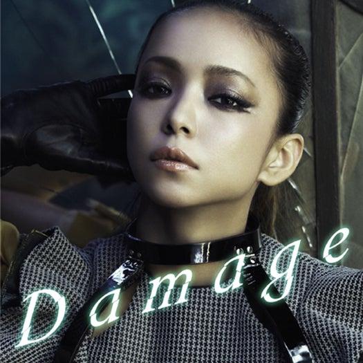 安室奈美恵の新曲「Damage」ジャケット