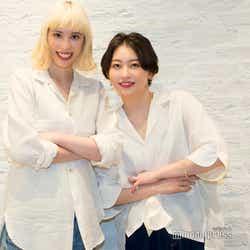 (左から)Rachel、Mamiko(C)モデルプレス