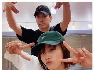 高橋愛&あべこうじ、夫婦ダンス動画に反響「かっこよすぎ」「永遠リピート」