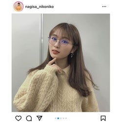 NMB48 渋谷凪咲、「ほぼ、のび太くんっ」な私服コーデに反響