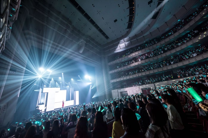 テミン「TAEMIN Japan 1st TOUR ~SIRIUS~」/写真:Takeshi Yao