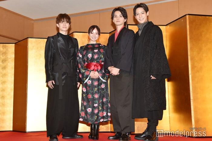 (左から)高橋龍輝、今泉佑唯、瀬戸利樹、味方良介 (C)モデルプレス