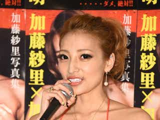 加藤紗里、妊娠を発表 シングルマザーに