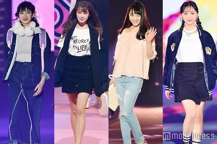 「Seventeen」を卒業することを発表した(左から)橋爪愛、藤井サチ、仲谷香春、末永真唯(C)モデルプレス