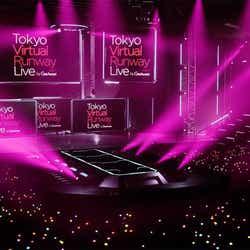 (C)Tokyo Virtual Runway Live by GirlsAward (C)AbemaTV, Inc.