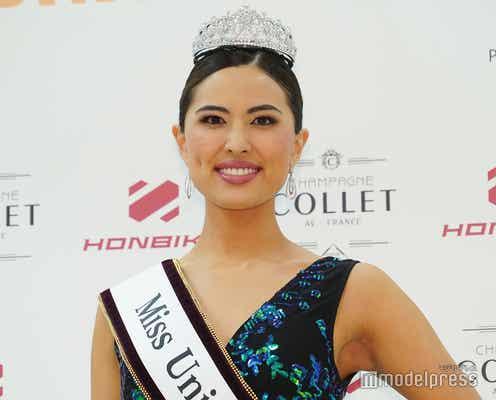 「2021 Miss Universe Japan」が決定 26歳会社員の渡邉珠理さん、目標は世界一
