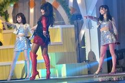 【24時間テレビ】AKB48渡辺麻友&NMB48山本彩、ミニスカ&腹チラSEXY衣装で山本リンダと生歌唱