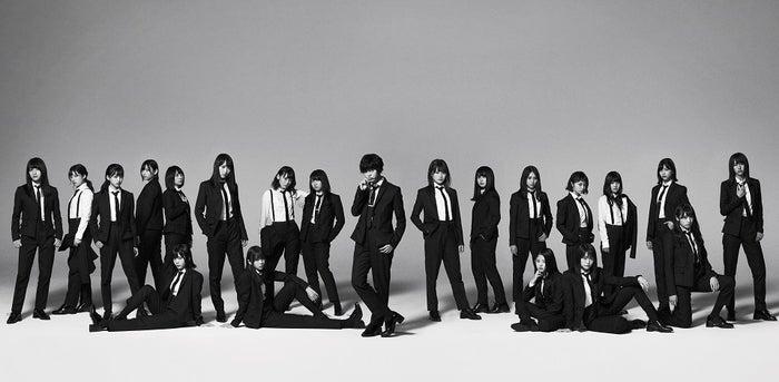 欅坂46 5thシングル「風に吹かれても」(10月25日リリース)