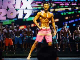 2ヶ月半で10キロ減の金子賢、バキバキの肉体美で魅了 海外大会で4冠の快挙!<NABBA WFF>