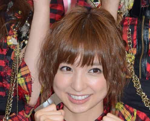 篠田麻里子、総選挙順位転落も強気の姿勢変わらず?