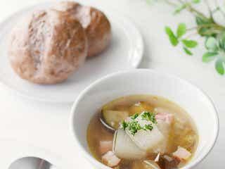 「冬瓜となすのトロトロスープ」レシピ【365日のパンとスープ】