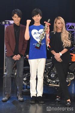 (左から)西川俊介、高梨将さん、GENKING(C)モデルプレス