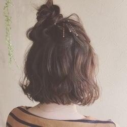 どんな髪型でもボブアレンジでオシャレにニュアンスチェンジ♡