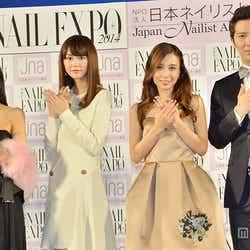 【左から】川島なお美、桐谷美玲、May J.、尾上松也
