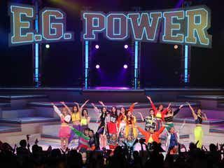 "E.G.family、サプライズ発表に歓声 新体制初のツアーは""進化""感じるステージに<東京公演レポ>"