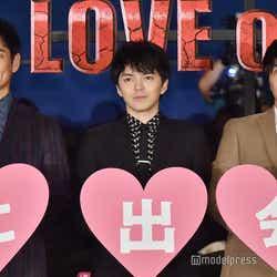 (左から)沢村一樹、林遣都、田中圭 (C)モデルプレス