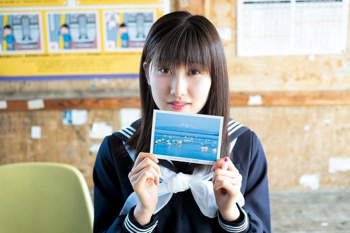 モーニング娘。'16・佐藤優樹(C)佐藤裕之/「週刊ヤングジャンプ28号」より