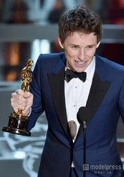 第87回アカデミー賞、エディ・レッドメインが主演男優賞初ノミネートで初受賞/photo:Getty Images【モデルプレス】