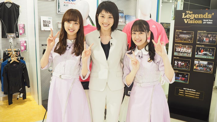佐藤楓、潮田玲子、向井葉月(写真提供:テレビ朝日)