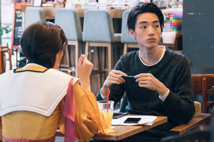 西野七瀬、清水尋也/「電影少女」第3話より(C)「電影少女2018」製作委員会