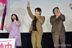 橋本環奈、吉沢亮、賀来ポン太(賢人)(C)モデルプレス