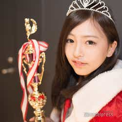 「高一ミスコン2018」グランプリ受賞直後のおさかべゆいさん(C)モデルプレス