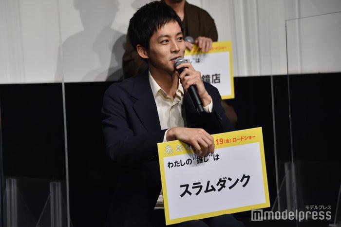 推しの「スラムダンク」を熱弁する松坂桃李(C)モデルプレス
