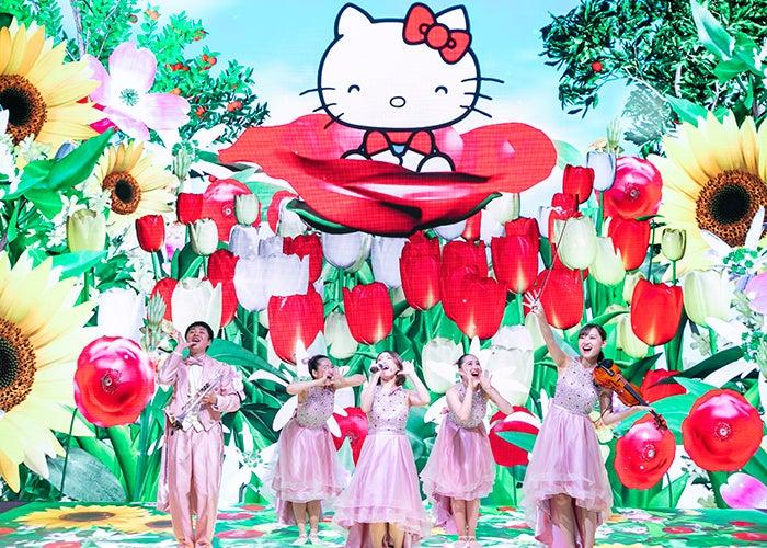 ハローキティ ドリームエンターテインメントショー/画像提供:サンリオ