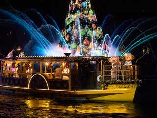 TDS夜のハーバーショー「カラー・オブ・クリスマス」8年目でフィナーレへ
