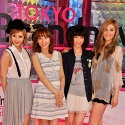 新番組でレギュラーをつとめる4人(写真左から)木下ココ、優木まおみ、安田美沙子、AFTERSCHOOL・ナナ