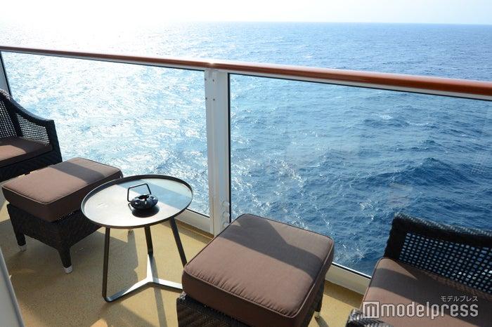パレス スイート/大海原が広がるバルコニーからの眺めは最高(C)モデルプレス