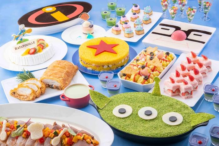 """""""ピクサー・プレイタイム""""ディナーブッフェ(※イメージ)大人¥5,800/7~12才¥3,600/4~6 才¥2,600(C)Disney(C)Disney/Pixar"""