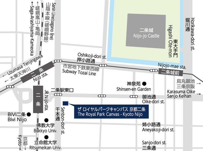 ザ ロイヤルパーク キャンバス 京都二条(提供画像)