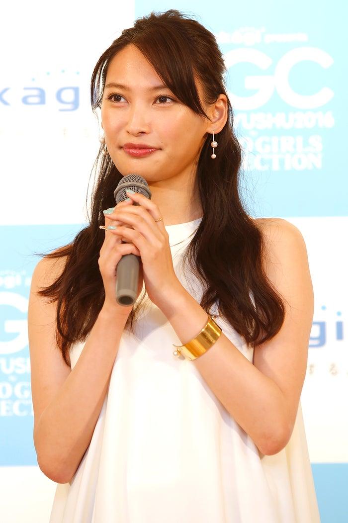 大政絢/記者発表会より(C)takagi presents TGC KITAKYUSHU 2016