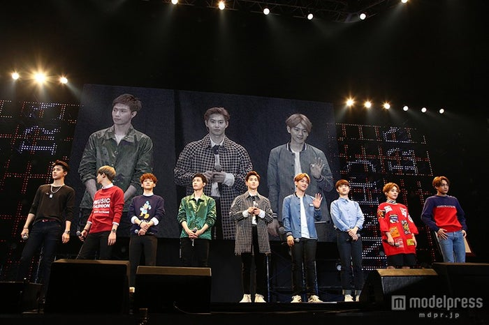 """初のファンクラブイベント「EXO-L-JAPAN FANCLUB EVENT 2015""""EXO CHANNEL""""」を開催したEXO【モデルプレス】"""